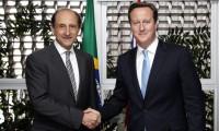 Imagem sobre a matéria: Em encontro na Fiesp, Paulo Skaf recebe David Cameron, primeiro-ministro do Reino Unido