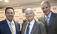 Imagem sobre a matéria: Ometto, Reis e Lazzarini participam de palestra magna do especialista Maurice Strong