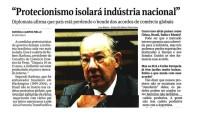 Imagem sobre a matéria: Rubens Barbosa alerta que o Brasil pode ficar isolado nas negociações internacionais com as medidas protecionistas