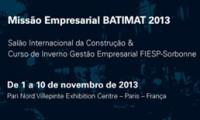Imagem sobre a matéria: Missão empresarial presente à Batimat 2013 participa de curso da Cátedra da Fiesp com a Universidade Sorbonne