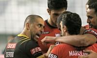 Imagem sobre a matéria: Sesi-SP vence Maringá e sobe para a quarta posição na Superliga masculina de vôlei
