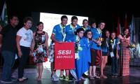 Imagem sobre a matéria: Times de robótica do Sesi-SP de Bauru e Rio Preto conquistam prêmios em torneio nas Filipinas