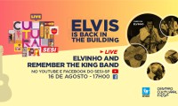 Imagem sobre a matéria: Elvis is Back in the Building: Sesi-SP realiza live em homenagem ao rei do rock, neste domingo, 16/8