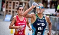 Imagem sobre a matéria: De volta às competições, Luísa Baptista garante seu nome no top 10 em Copas do Mundo de Triatlhon